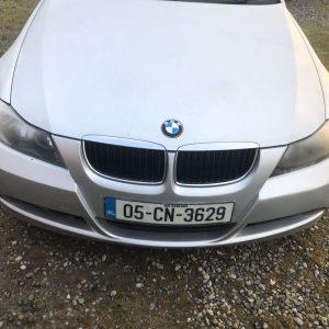BMW 320.2.0d. 2005m. Visas dalimis.+37063595900